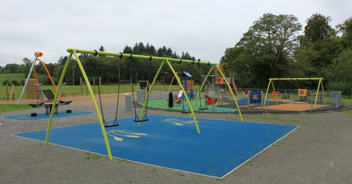 Dromahair Playground, Adult Gym and Walk