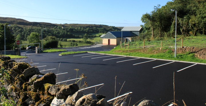 Newtownmanor Community Hall Car Park